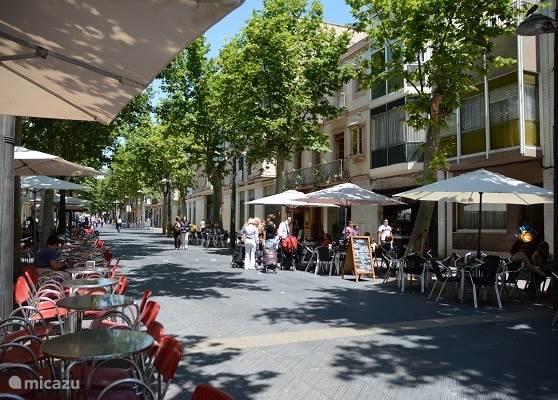 Historische stad met zijn gezellige straatjes en diverse lokale (zeker geen toeristische) restaurantjes.