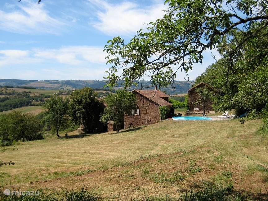 Vacation rental France, Aveyron, La Serre holiday house Les Taillades Hautes