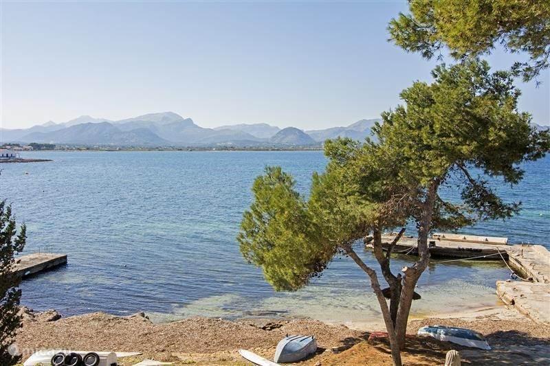 Vakantiehuis Spanje, Mallorca, Alcúdia Penthouse Luxe appartement, direct aan zee!