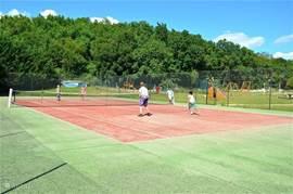Mooie tennisbaan
