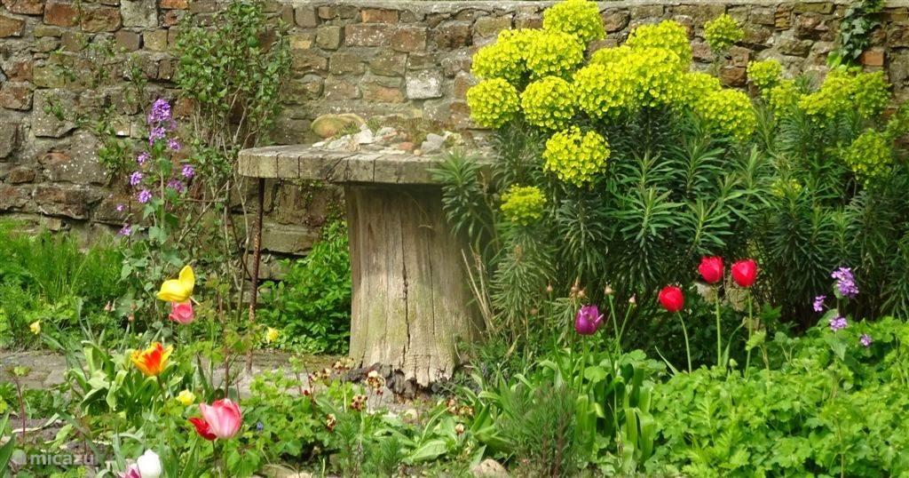 Knus hoekje in de tuinen