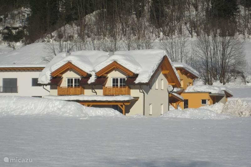 Vakantiehuis Oostenrijk, Karinthië, Kötschach-Mauthen Vakantiehuis Chalet Kötschach