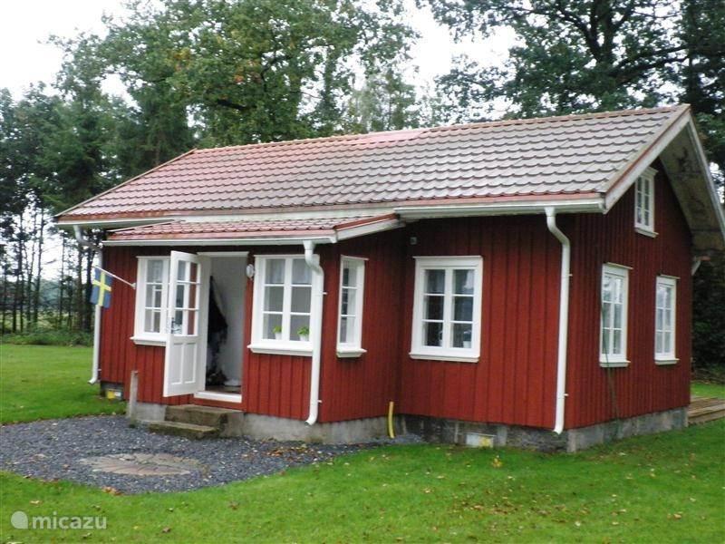 Vakantiehuis Zweden, Västergötland, Björketorp - vakantiehuis Stuga Kronogarden