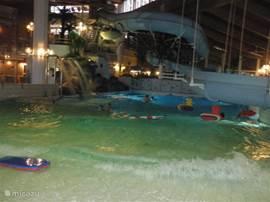 Het binnenzwembad in Borås