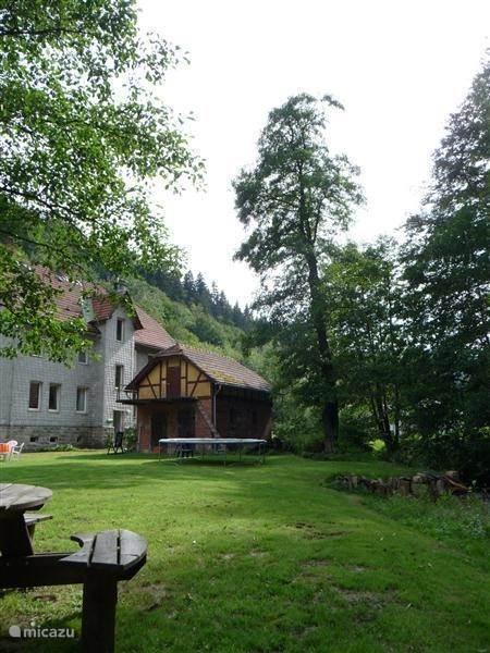 Vakantiehuis Duitsland, Thüringer Woud, Gehlberg Appartement Wilde Gera 4 personen