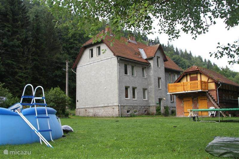 Vacation rental Germany, Thuringian Forest, Gehlberg apartment Schneekopf Gera, 16 people