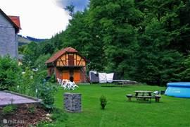 Vakantiehuis gelegen in het dal van Gehlberg.