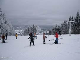 In de wintermaanden kunt u zowel in het dorp als in de omliggende dorpen gebruik maken van de gemoedelijke familiepistes of langlaufen in de nabijgelegen bossen.