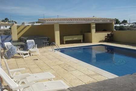 Vacation rental Spain, Costa de Almeria, Albox villa Casa Naranja