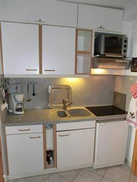 Completely equipped kitchen