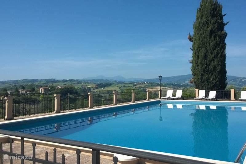Vakantiehuis Italië, Marche, Orciano di Pesaro Appartement Villa Fonti Appartement