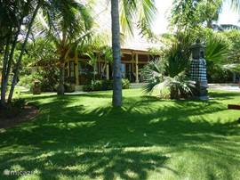Prachtige balinese tuin