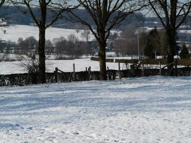 Winter in het Heuvelland