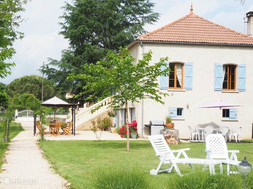 Vacation rental France, Dordogne, Duravel holiday house Toussac