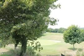 Uitzicht op de Golfcourt