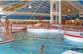 Het zwembad Calluna rond 800 meters afstand
