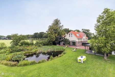 Vacation rental Netherlands, Drenthe, Wateren holiday house Large house 'De Oude Meester'