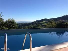 Het zwembad van Casa San Rocco