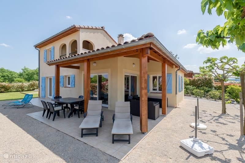 Ferienwohnung Frankreich, Ardèche, Vallon-Pont-d'Arc Villa Les Muriers - Nr. 77-Vallon Pont d'Arc
