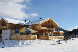This year opened: luxury restaurant and apres-ski bar