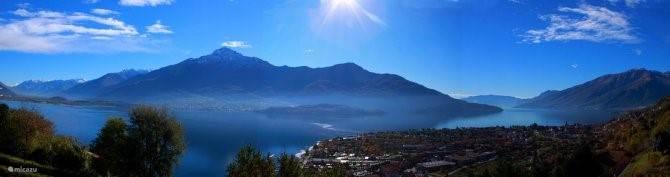 panorama , het plaatsje is Domaso