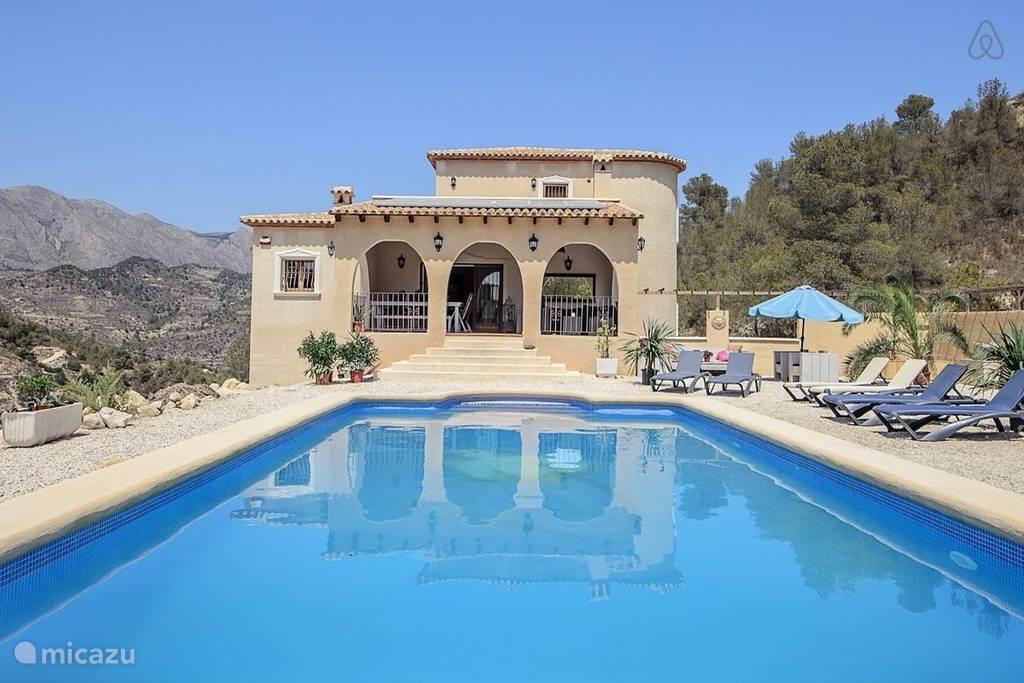 Vakantiehuis Spanje, Costa Blanca, Relleu Villa Villa Walija