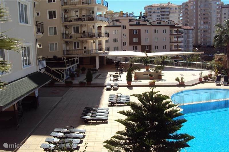Vakantiehuis Turkije, Turkse Rivièra, Alanya - appartement Club Panorama Garden
