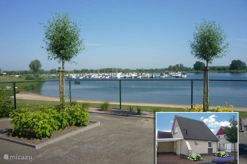 Vakantiehuis Nederland, Limburg, Stevensweert Vakantiehuis Huisje aan het water