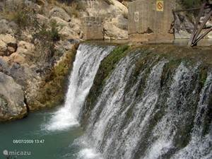 Watervallen van d'Algar