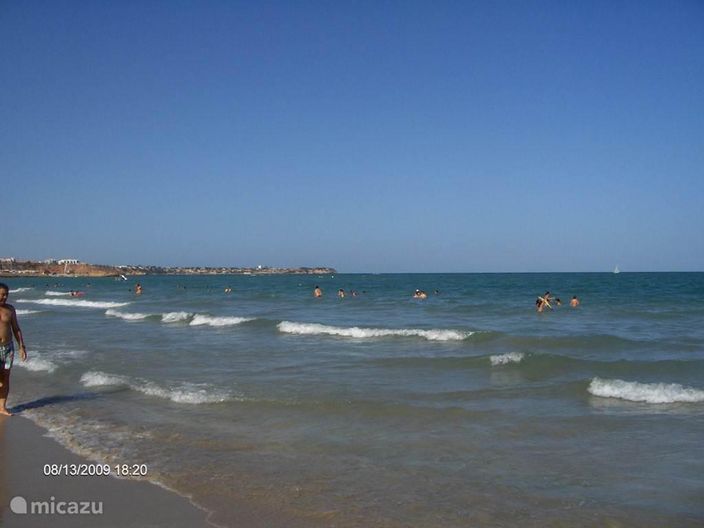 Strand bij Mar Menor ( zee zijde)