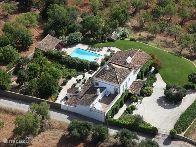 Vakantiehuis Portugal, Algarve, Vilamoura - landhuis / kasteel Quinta Quigima