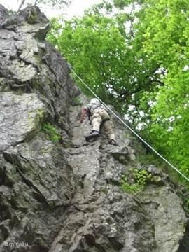 Nog een gedeelte van de rots.