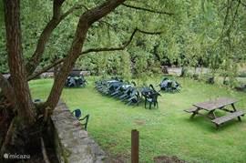 Ein weiterer Blick auf den Garten.