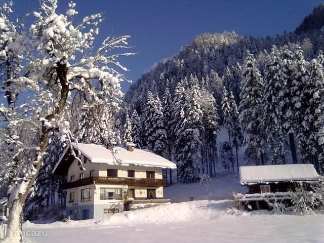 Bergblick in de winter