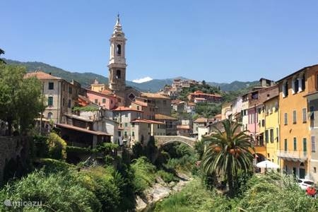 Het pittoreske dorpje Dolcedo