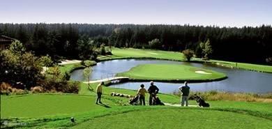 Golfbaan Haugschlag op 5 km afstand. Dit is één van de meest bekende golfbaan van Oostenrijk.  Daarnaast is er ook een golfbaan naast het park voor beginners.