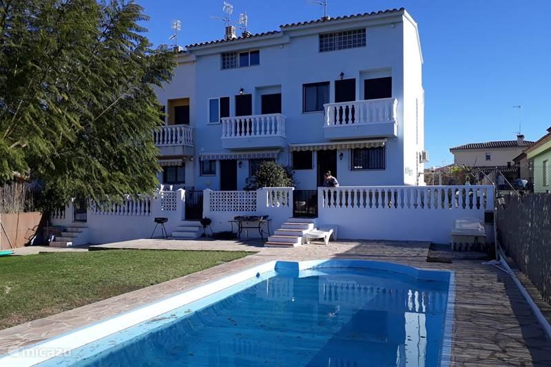 Vakantiehuis Spanje, Costa del Azahar, Calig Geschakelde woning Villa Bella Orange