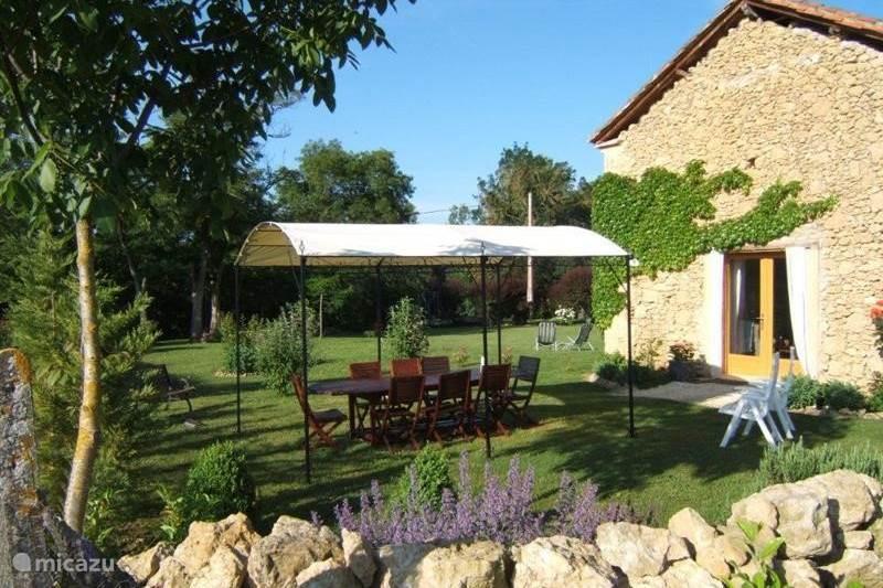 Vakantiehuis Frankrijk, Gers, Moncorneil-Grazan Vakantiehuis 6 pers. Rolstoel vriendelijke gite