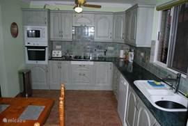 Keuken in hoofdhuis