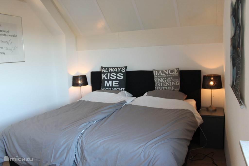 Slaapkamer met boxspring matrassen