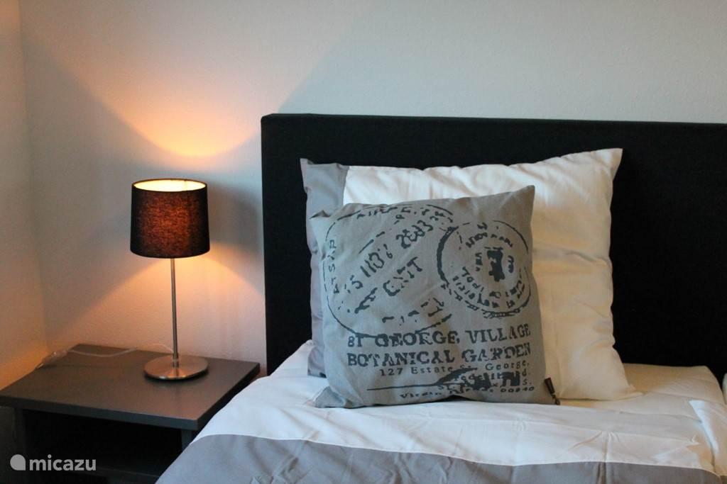 Detailfoto slaapkamer