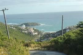 Uitzicht op Dawn Beach