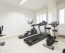 U kunt gratis gebruik maken van onze fitnessruimte, perfect voor degenen die tijdens de vakantie graag in beweging willen blijven!