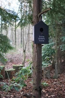 Ook de vogels hebben een goed onderkomen :-))