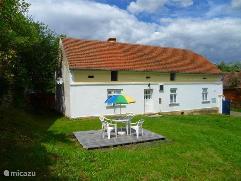 Vacation rental Czech Republic, Pilsen – holiday house Nedrazice West Bohemia