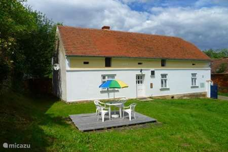 Vacation rental Czech Republic – holiday house Nedrazice West Bohemia