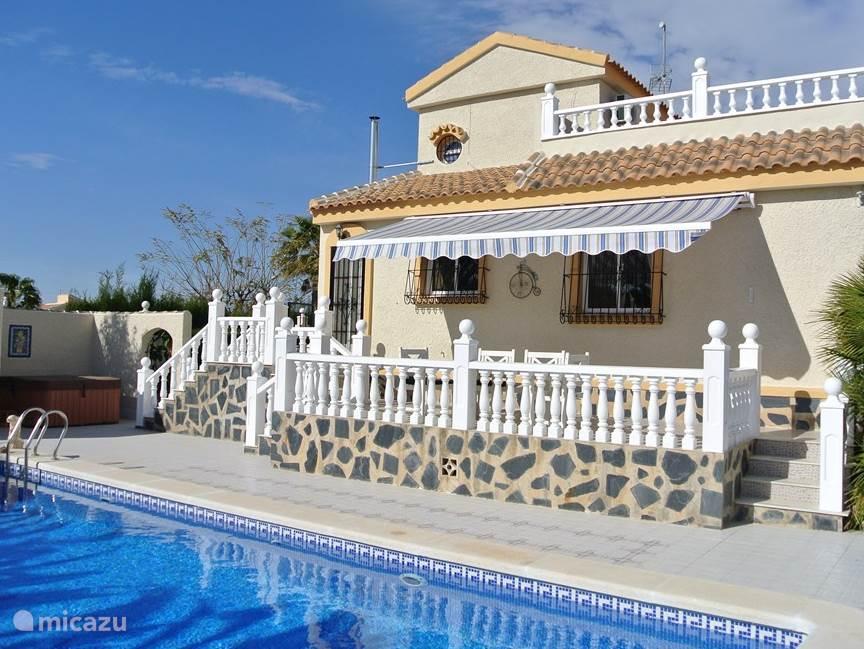 Vakantiehuis Spanje, Costa Cálida, Mazarrón Villa Villa Delfin