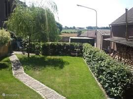 Weids uit zicht vanuit de tuin