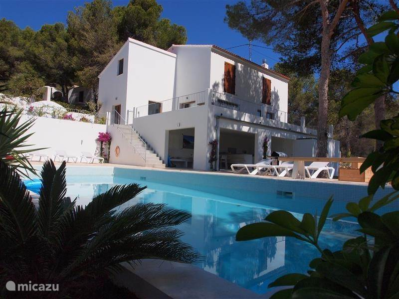 Vacation rental Spain, Costa Blanca, Moraira villa Villa Moraira