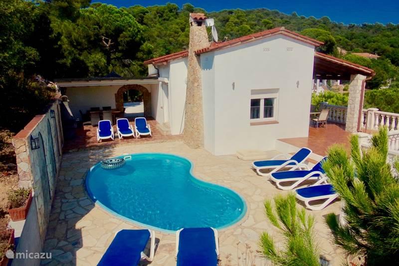 Vakantiehuis Spanje, Costa Brava, Lloret de Mar Villa Villa Monte Carlo